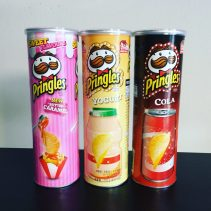 Pringles Asien Butter Caramel Yogurt Cola