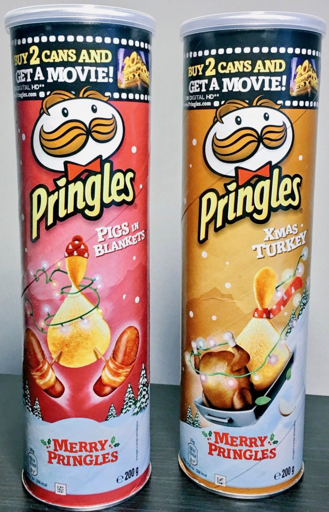 Pringles Pigs in Blankett Xmas Turkey