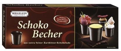 Riegelein Schoko Becher