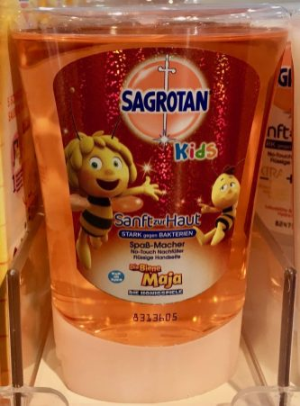 Sagrotan Seifenspender Nachfüller Biene Maja