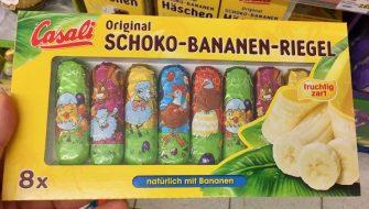 Casali Original Schoko-Bananen-Riegel Ostern