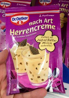 Dr Oetker Herrencreme Zaubercreme