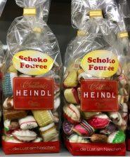 Heindl Schoko Fouree Bonbonkissen Schokoladenfüllung