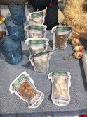 Hrovat's Deko Gebrannte Mandeln mit Sesam und Kokos