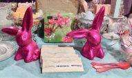 Hrovat's Osterhasen Schokolade Pink