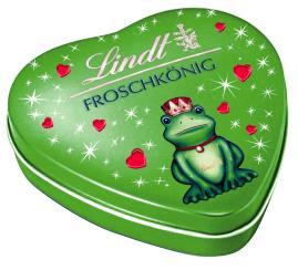Lindt Froschkänig Schmuckdose Pralinen