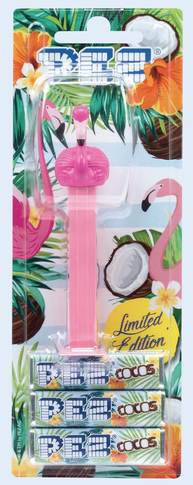 PEZ Flamingo Kokos Bonbons