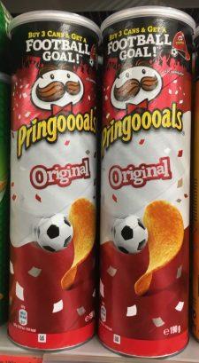 Pringels Pringoooals Original WM 2018