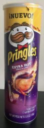 Pringles Extra Hot Chili+Lime