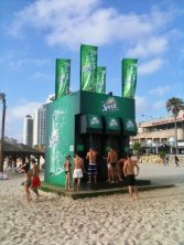 Sprite Tel Aviv Strand Duschen