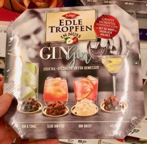 Trumpf Edle Tropfen in Nuss GinGin Cocktail-Spezialitäten