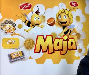 Biene Maja Lizenz Süßwaren Gebäck
