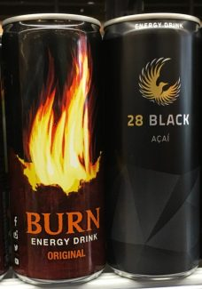 Energydrink Burn 28 Black Acai Dosen