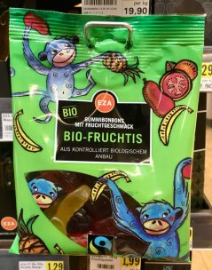 EZA Bio-Fruchtis Fairtrade