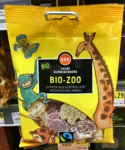 Eza Saure Gummibonbons Bio-Zoo Fairtrade
