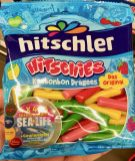 Hitschler Hitchies Kaubonbon ragees Aktionsaufkleber Sealife
