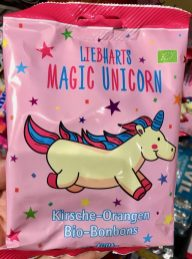 Liebharts Magic Unicorn Kirsche-Orangen Bio-Bonbons