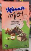 Manner Mio! haselnuss