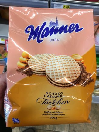 Manner Schoko Caramel Törtchen