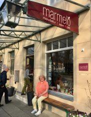 Marmelo Rheinsberg Ladengeschäft außen