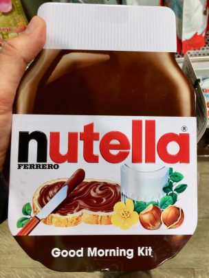 Nutella Dose Duty free