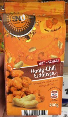 SNd Samba Nuts Honig-Chili Eerdnüsse Scharf