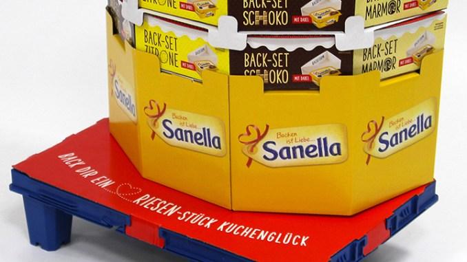 "Sanella Back-Set ""Riesen-Stück Kuchenglück"""