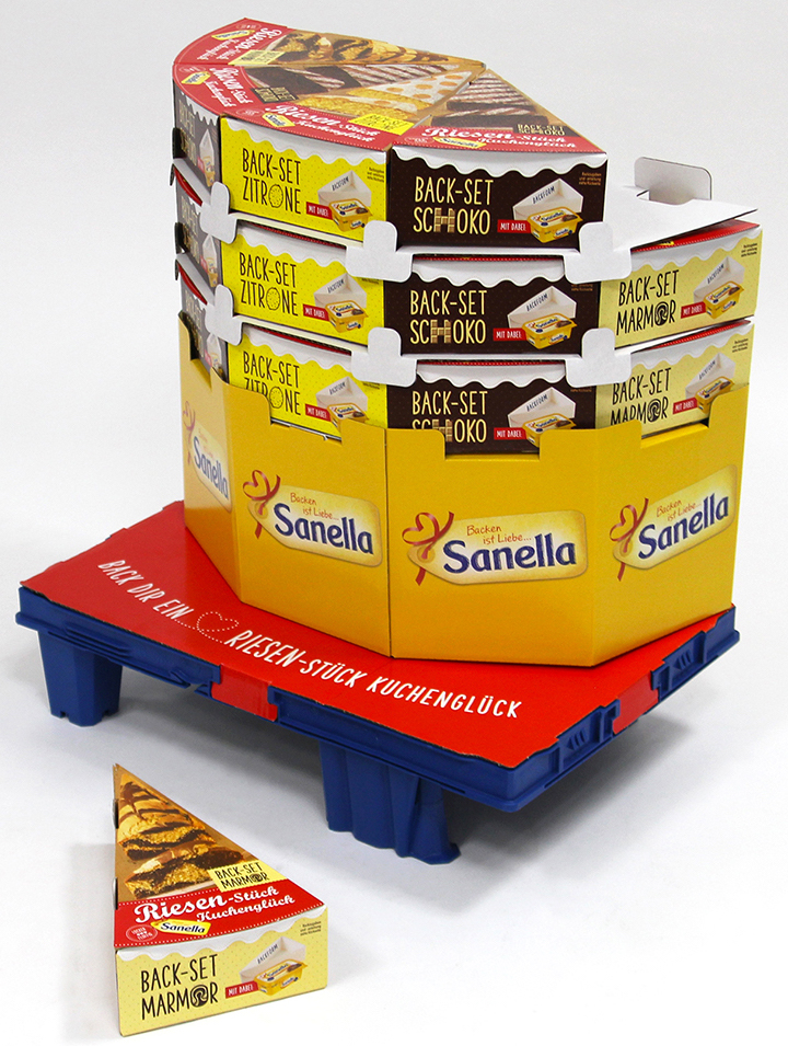 Sanella Back Set Riesen Stuck Kuchengluck Naschkater