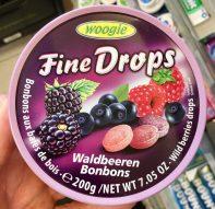 Woogie Fine Drops Waldbeeren Bonbons Dose