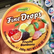 Woogie FineDrops Fruchtbonbons Dose