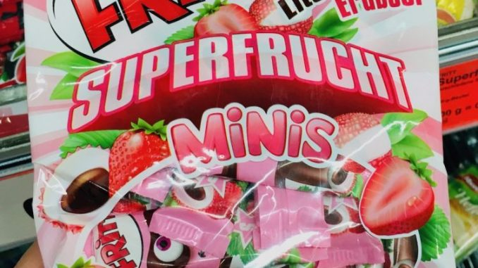 Krüger Fritt Superfrucht Minis Erdbeere-Litschi