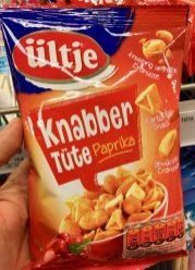 ültje Knabbertüte Paprika Erdnüsse