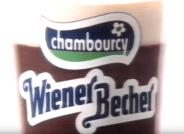 Chambourcy Wiener Becher Schokopudding Retro