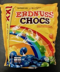 Chocola Erdnuss Chocs XXL Regenbogen