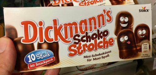 Dickmanns Schoko-Strolche 1o Mini-Schokoküsse im Snackpack