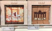 felicitas Berlin Souvenir Schokolade Mauer
