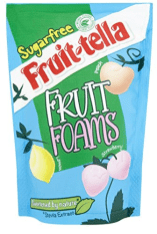 Fruit-tella Fruit Foams Sugarfree