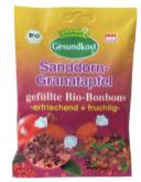 Liebharts Gesundkost Sanddorn Granatapfel gefüllte Bio-Bonbons