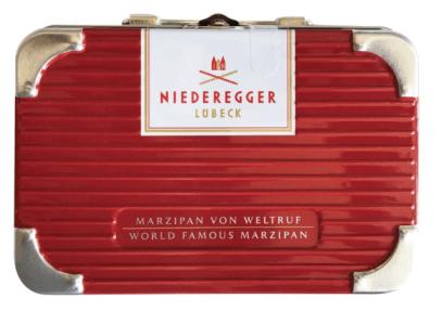 Niederegger Lübeck Marzipan im Metallköfferchen