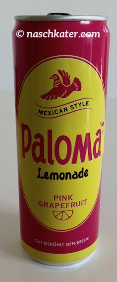 Paloma Limonade Pink Grapefruit Dose