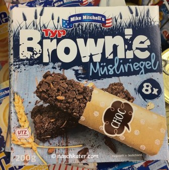 Penny Mike Mitchells Müsliriegel Typ Brownie