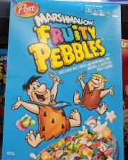 Post Cereals Fruity Pebbles Marshmallow Flintstones