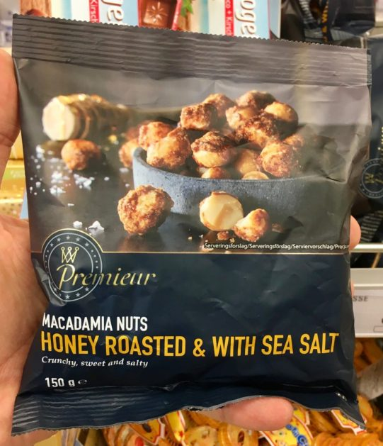 Premiear macadamia Nuts Honey roasted with Sea Salt