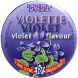 Rendez-vous: Violette-Bonbons ohne Zucker.