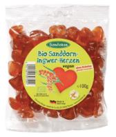 Sandokan Bio-Sanddorn Ingwer-Herzen