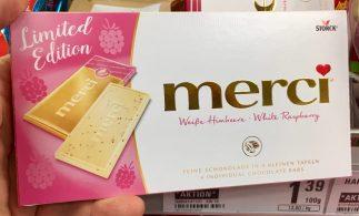 Storck Merci Limited Edition Weiße Erdbeere