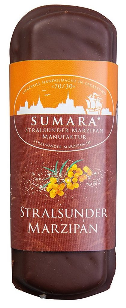 Sumara Stralsunder Marzipan Sanddorn
