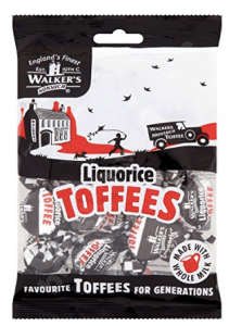 Walkers Liquorice Toffees