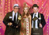 Viba-Gala Schmalkalden 1920er Jahre Party Viba-Prinzessin mit Ganoven Oliver und Florian