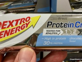 Dextro Energy Protein Crisp Chocolate Bar